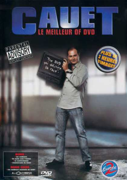 French DVDs - Cauet Le Meilleur Of Dvd