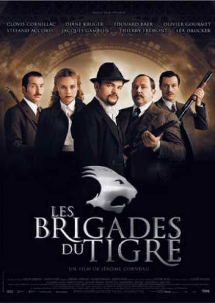 French DVDs - Les Brigades Du Tigre