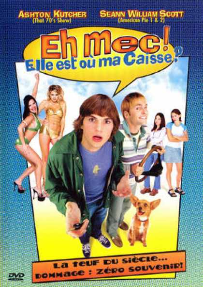 French DVDs - Dude, Where's My Car