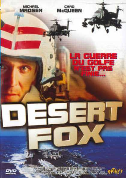 French DVDs - Desert Fox