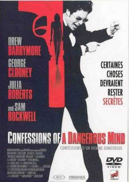 French DVDs - Confessions Of A Dangerous Mind