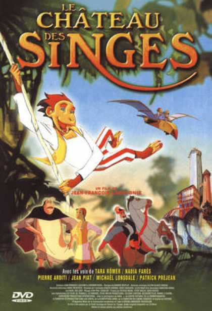 French DVDs - Le Chateau Des Singes