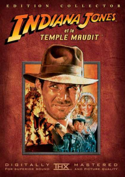 French DVDs - Indiana Jones Temple Of Doom