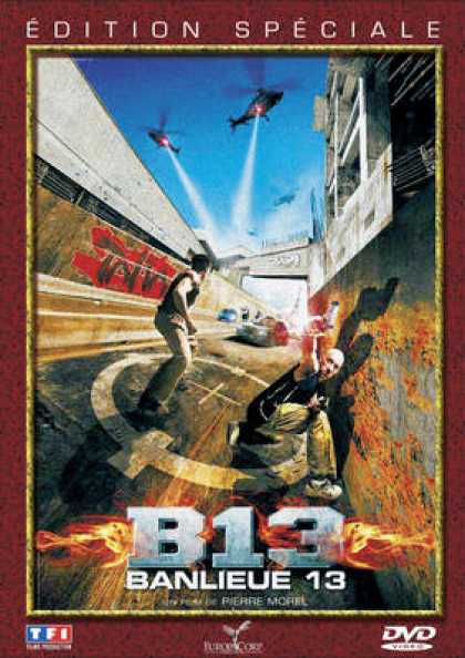 French DVDs - District B13