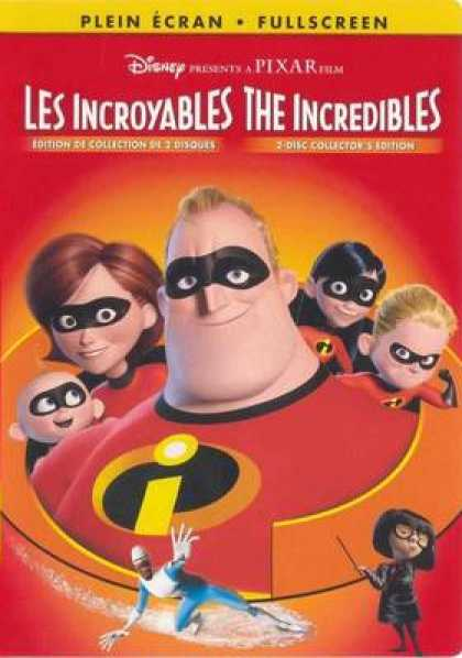 French DVDs - The Incredibles French Canadian