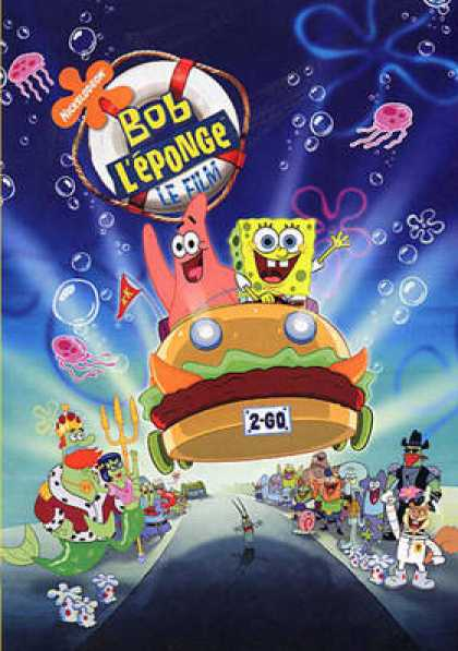 French DVDs - Spongebob Squarepants The Movie