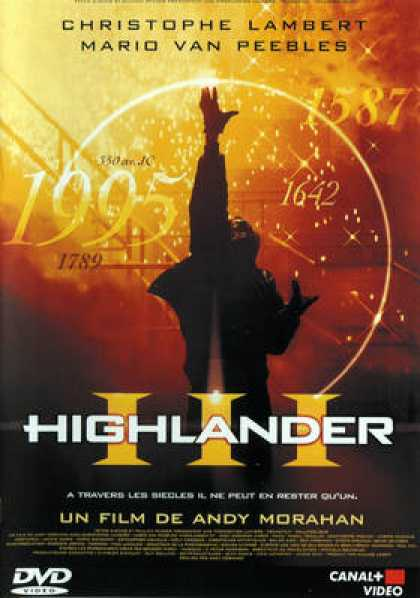 French DVDs - Highlander 3 The Sorcerer