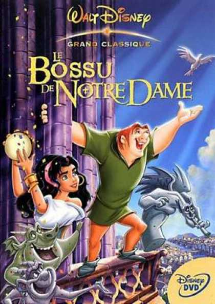 French DVDs - The Huntchback Of Notre Dame French Canadian