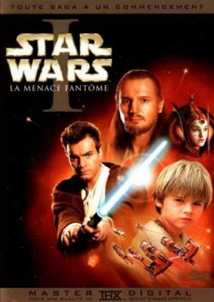 French DVDs - Star Wars Episode 1 The Phantom Menace