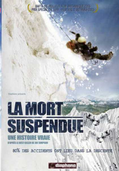 French DVDs - La Mort Suspendue