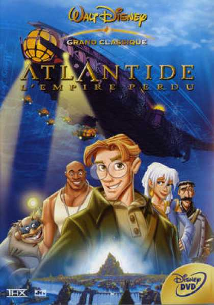 French DVDs - Atlantide L Empire Perdu