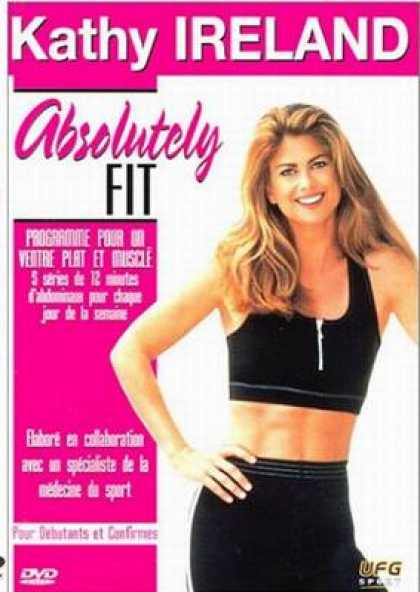 French DVDs - Kathy Ireland Absolutely Fit