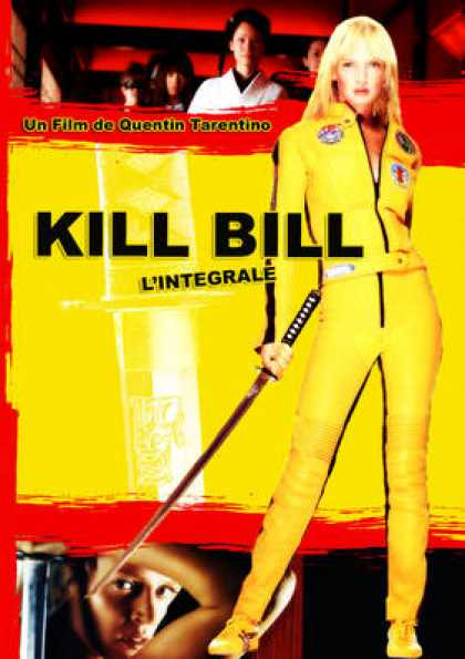 French DVDs - Kill Bill Volume 1 & 2