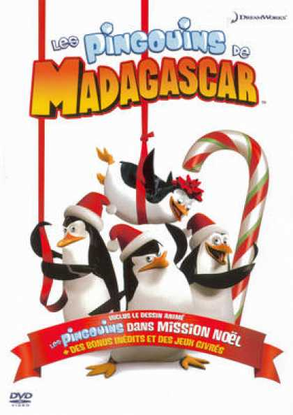 French DVDs - Les Pingouins De Madagascar
