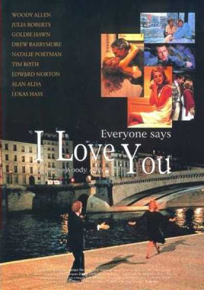 French DVDs - Everyone Says I Love You
