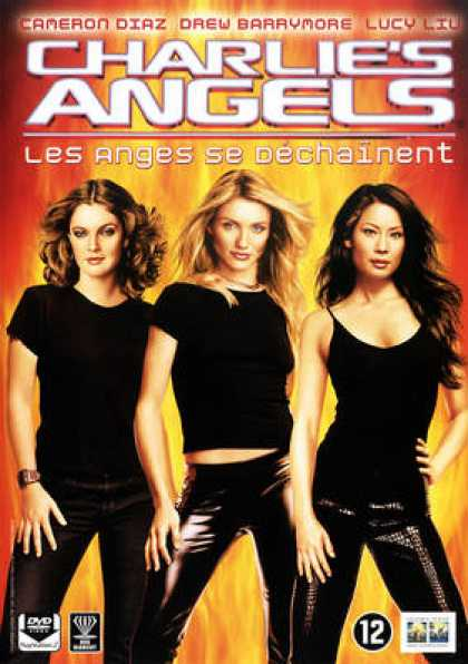French DVDs - Charlie's Angels: Full Throttle