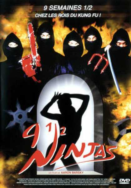 French DVDs - 9 Ninjas