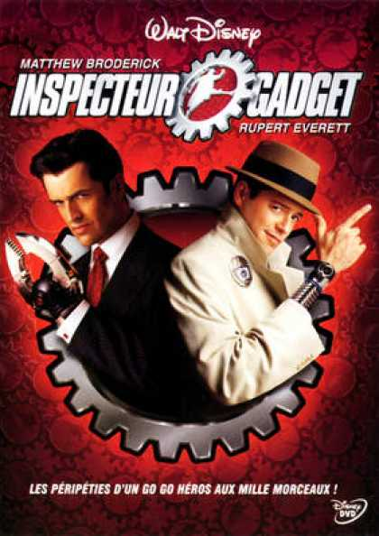 French DVDs - Inspector Gadget 1