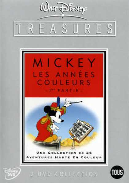 French DVDs - Mickey Les Annees Couleurs 1 Ere Partie