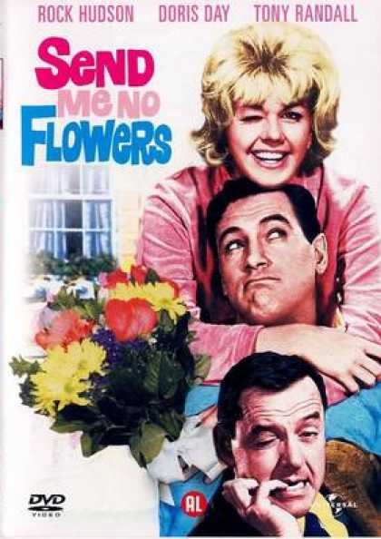 French DVDs - Send Me No Flowers