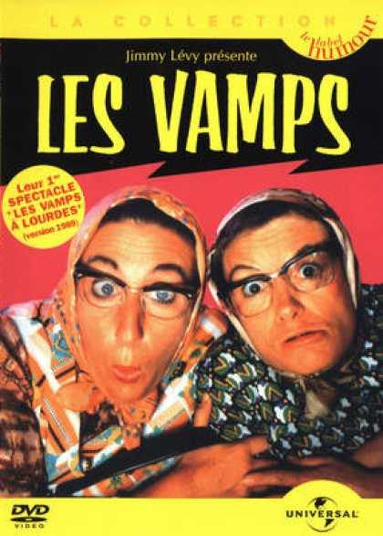 French DVDs - Les Vamps