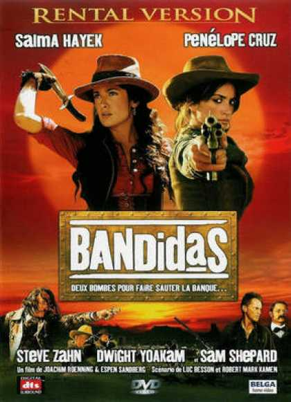 French DVDs - Bandidas