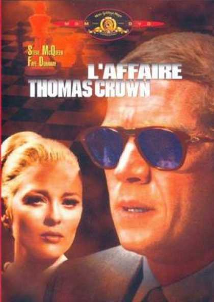 French DVDs - The Thomas Crown Affair 1968