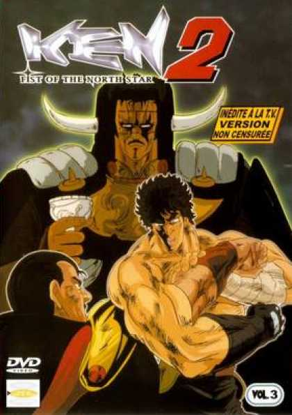 French DVDs - Ken 2 Fist Of The North Star Volume 3