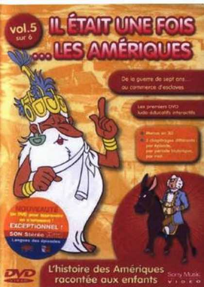 French DVDs - Once Upon A Time The Americas Vol 5