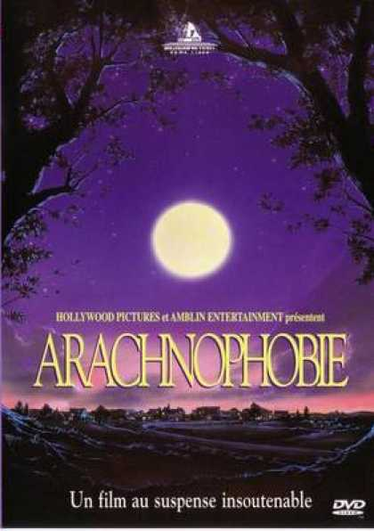 French DVDs - Arachnophobia