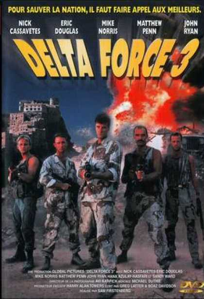 French DVDs - Delta Force 3
