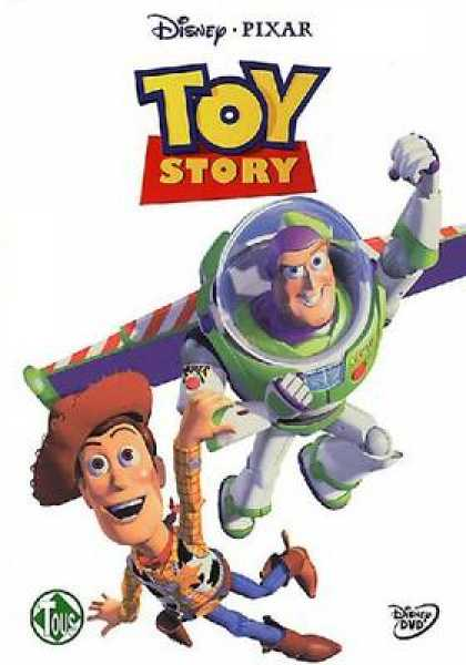 French DVDs - Toy Story Special