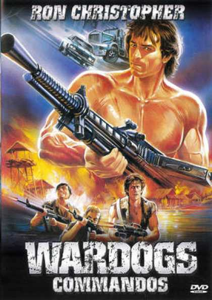 French DVDs - Wardogs Commandos