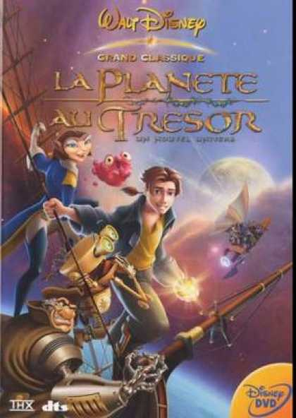 French DVDs - Treasure Planet