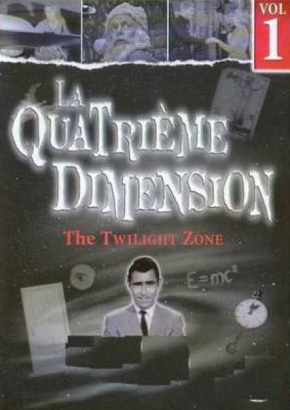 French DVDs - The Twilight Zone Vol 1