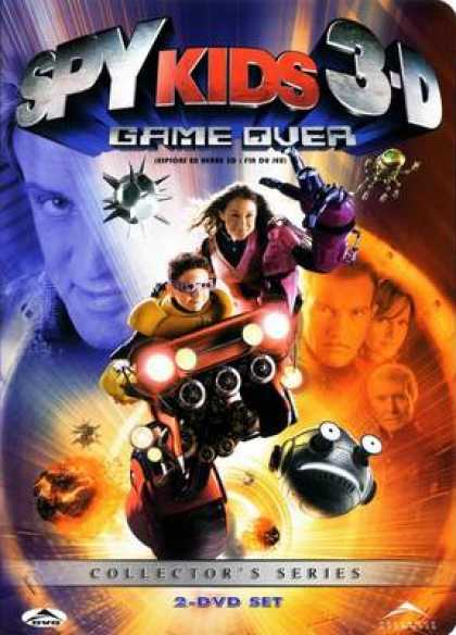 French DVDs - Spy Kids 3d