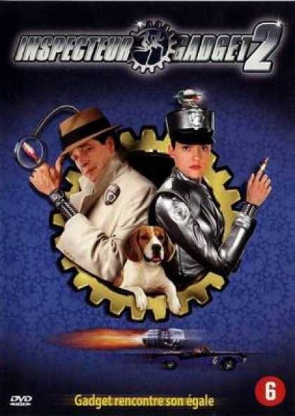 French DVDs - Inspector Gadget 2