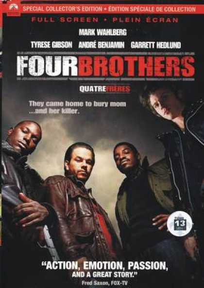 French DVDs - Four Brothers CE