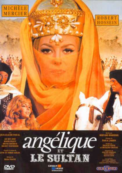 French DVDs - Angelique Et Le Sultan