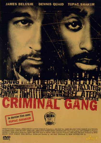 French DVDs - Criminal Gang