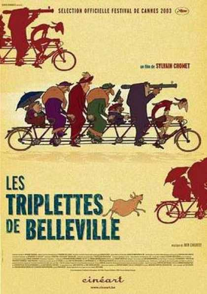 French DVDs - Triplets Of Belleville French Canadian