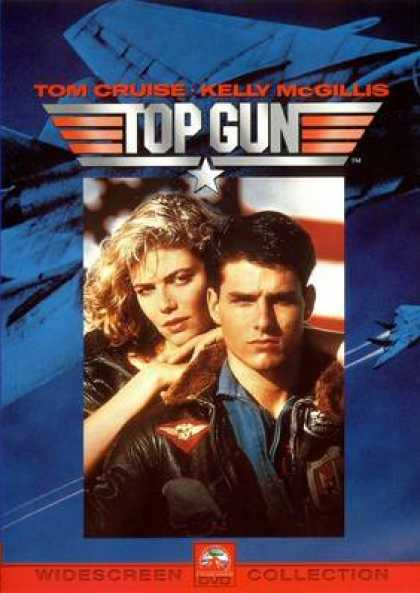 French DVDs - Top Gun Widesreen