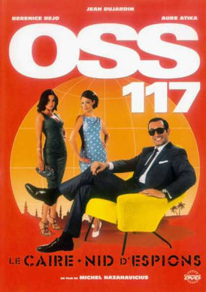 French DVDs - OSS 117 Le Caire Nid D'espions