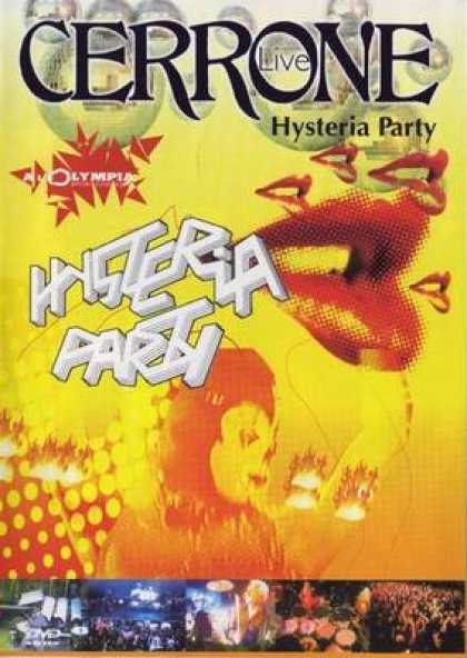 French DVDs - Cerrone Hyteria Party