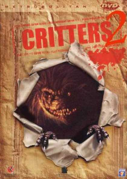 French DVDs - Critters 2