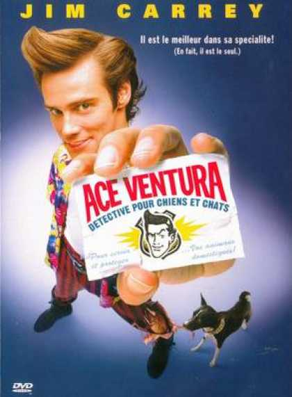 French DVDs - Ace Ventura Pet Detective