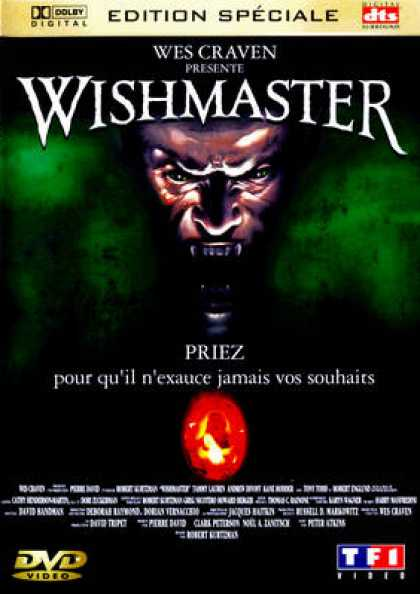 French DVDs - Wishmaster 1
