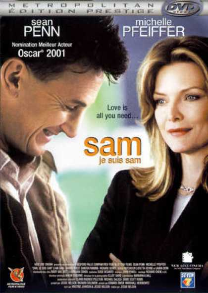 French DVDs - Sam Je Suis Sam