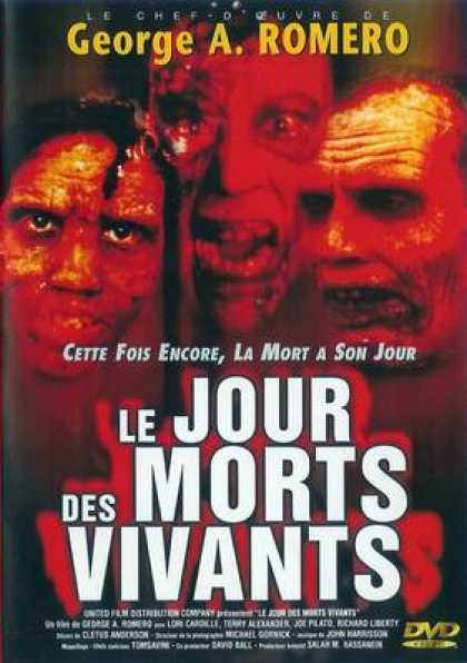 French DVDs - Day Of The Dead