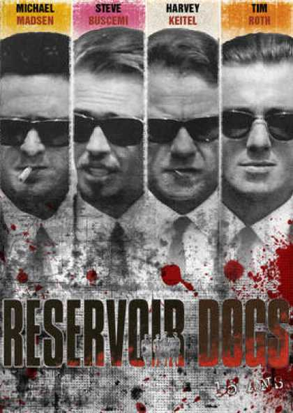 French DVDs - Reservoir Dogs